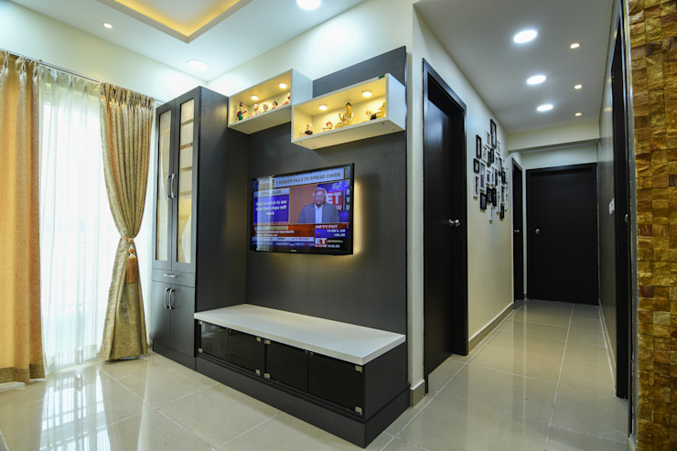 25 Modern living room by Magnon India Modern