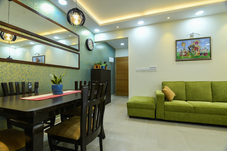 26 Modern dining room by Magnon India Modern