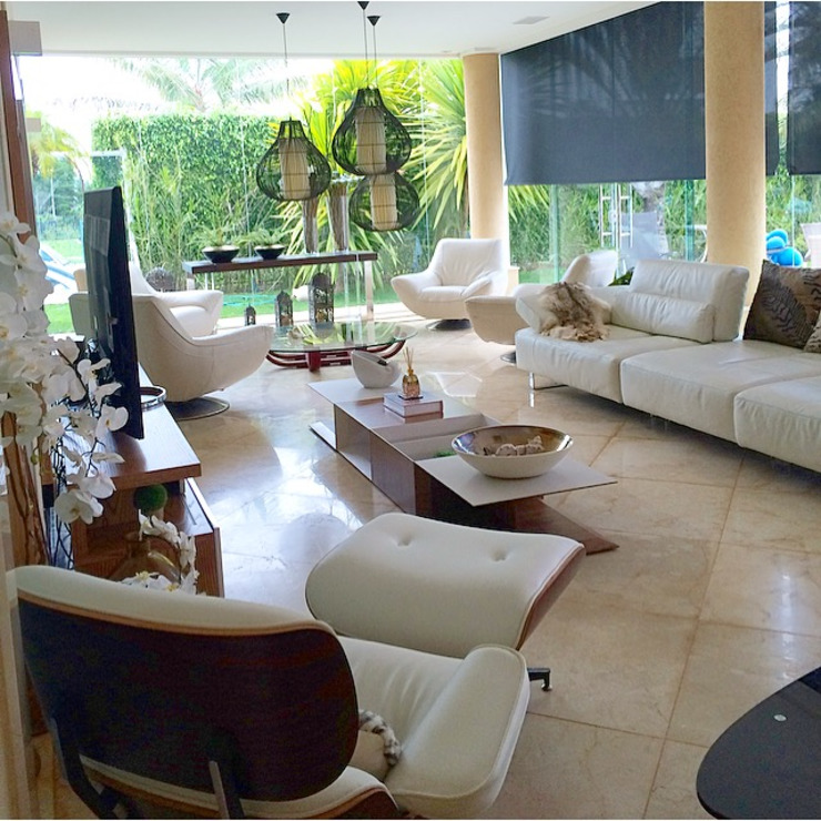Área gourmet Varandas, marquises e terraços minimalistas por Aadna.Design Minimalista