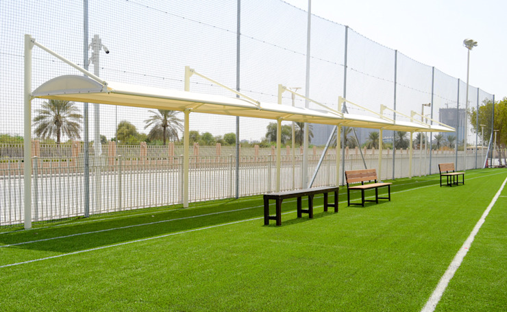 Shade Structures Dubai by Al Fares International Tents Modern Metal