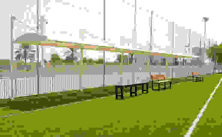 Shade Structures Dubai Al Fares International Tents Prefabricated Garage Metal Beige