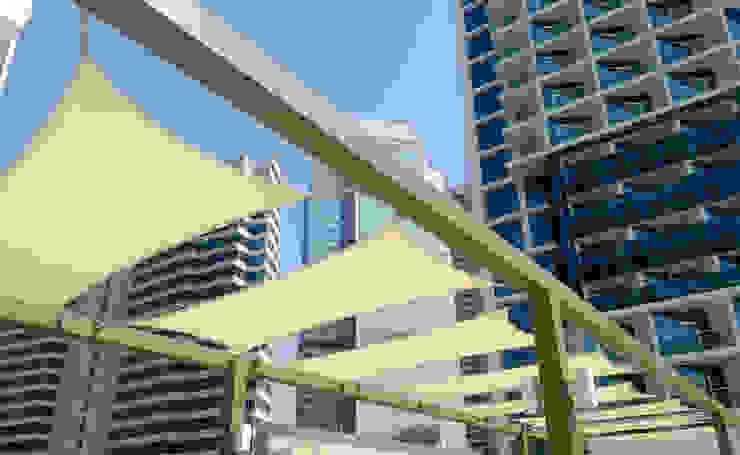 Tensile Fabric Structure Dubai Al Fares International Tents Prefabricated Garage Metal Beige
