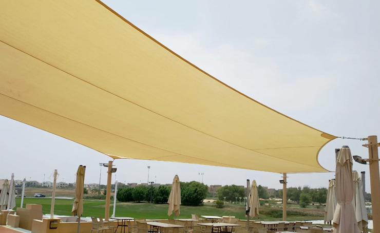 Tensile Fabric Structure by Al Fares International Tents Country Metal