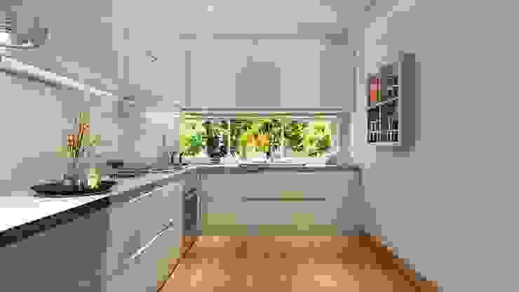 Nicoletta Russo Cocinas modernas: Ideas, imágenes y decoración Azulejos Blanco