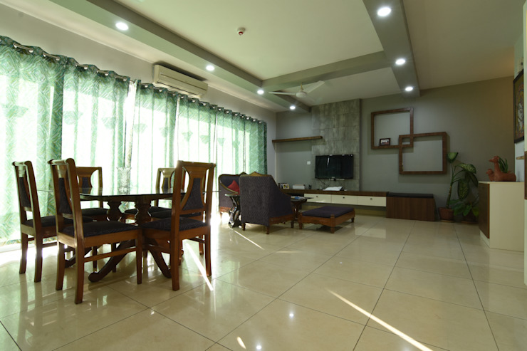 1 Modern dining room by Magnon India Modern