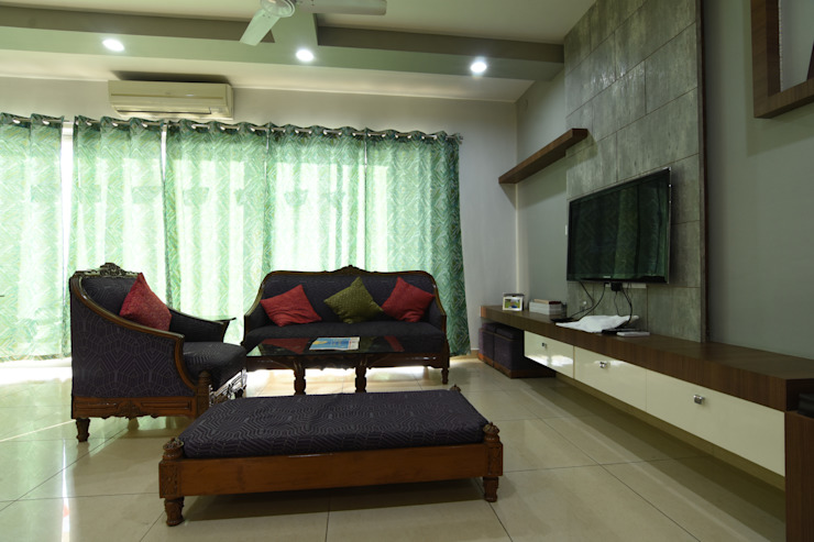 2 Modern living room by Magnon India Modern