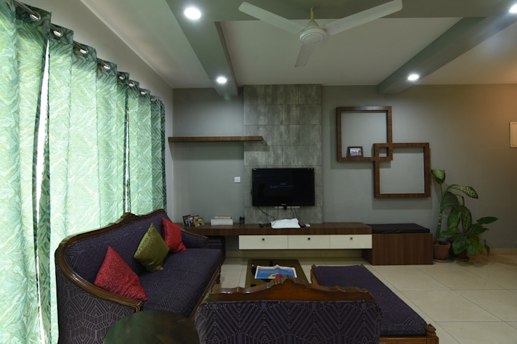 4 Modern living room by Magnon India Modern
