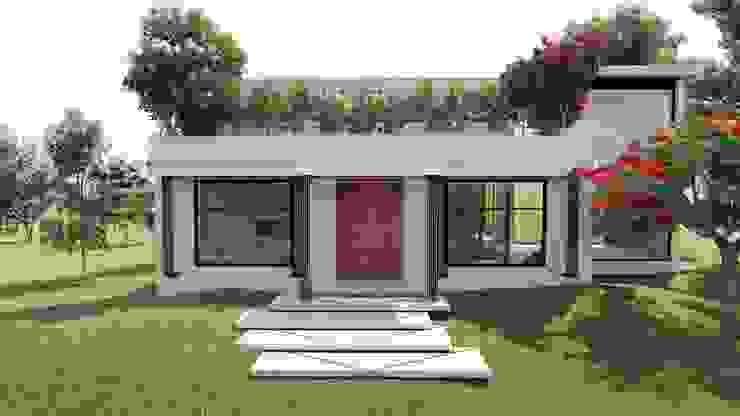 AIDA TRACONIS ARQUITECTOS EN MERIDA YUCATAN MEXICO Maisons modernes