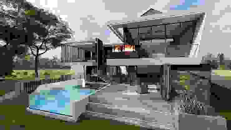 FRANCOIS MARAIS ARCHITECTS Modern home