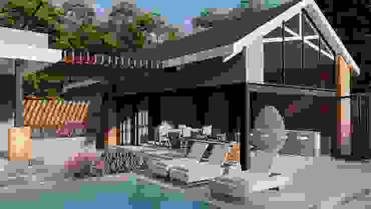 FRANCOIS MARAIS ARCHITECTS Modern pool