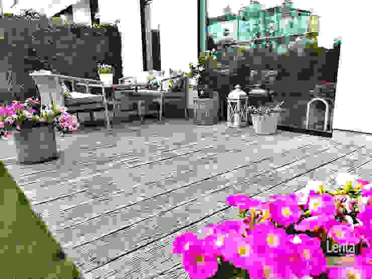 Lenta Rustic style garden