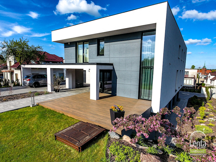 Lenta Balcones y terrazas de estilo moderno