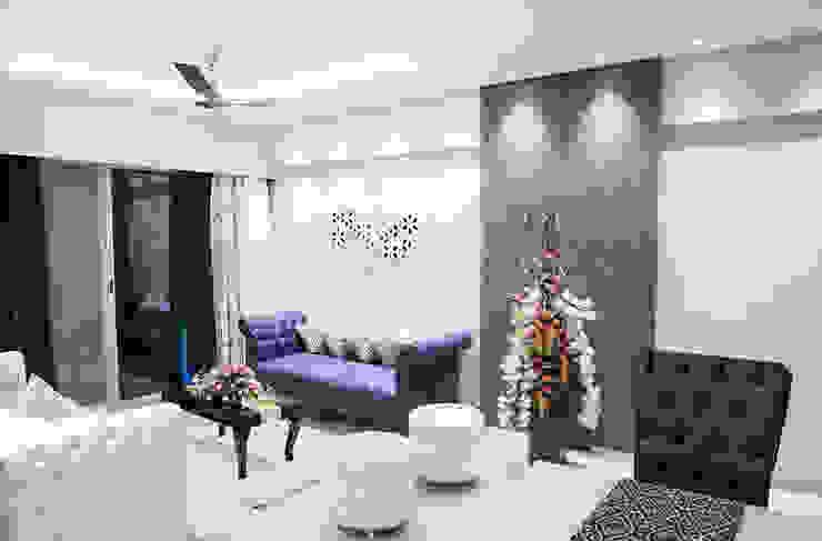 Mansi desai Living roomSofas & armchairs Kulit Blue