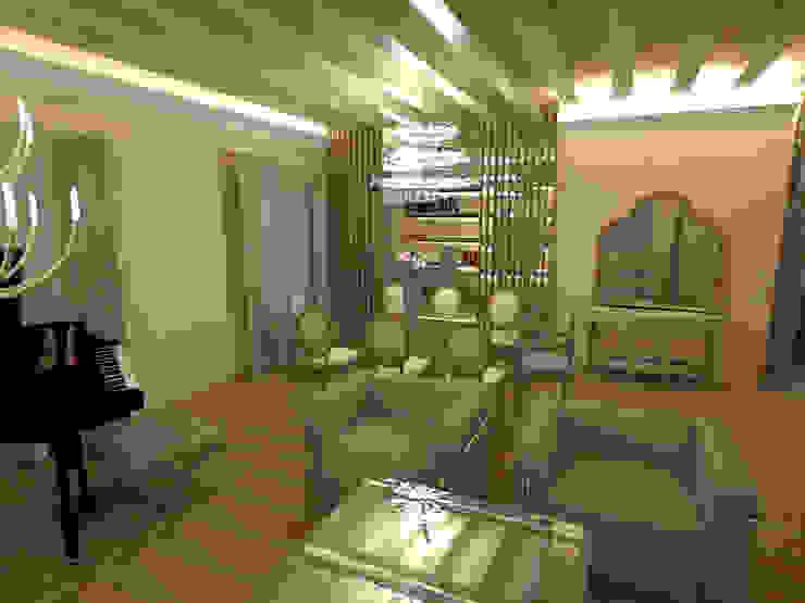 3D Salón, comedor, despacho de Ana Cabo