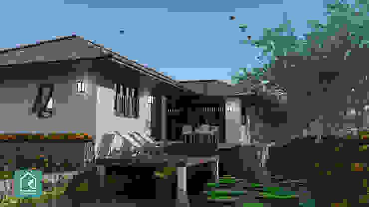 (A-M5) แบบบ้านชั้นเดียว (บ้านริมคลอง) โดย Click House