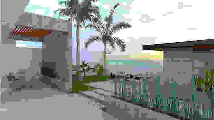 CASA VILLAMAR Tijuana Baja California de Gutierrez Aldana Arquitectos Moderno