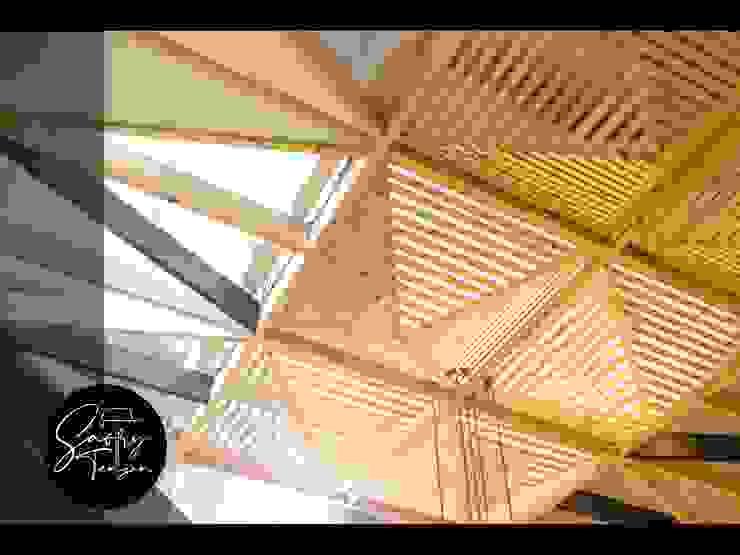 Scandinavian style conservatory by Saory Tengan Scandinavian