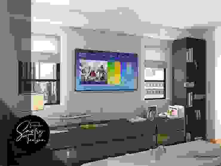 Modern Bedroom by Saory Tengan Modern