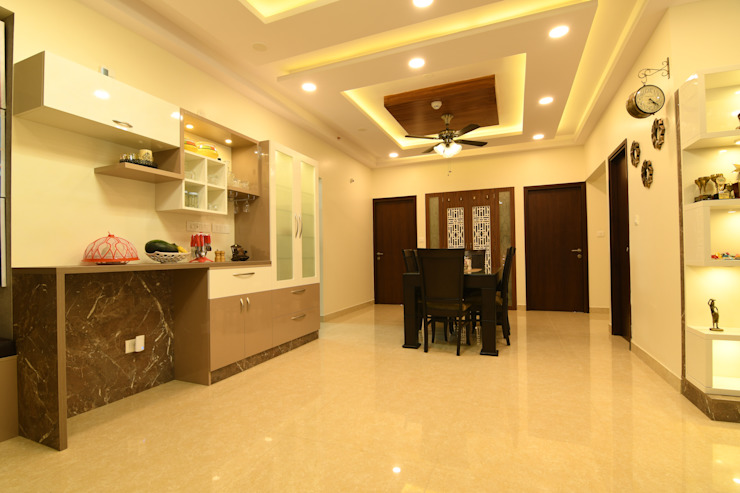 2 Modern dining room by Magnon India Modern