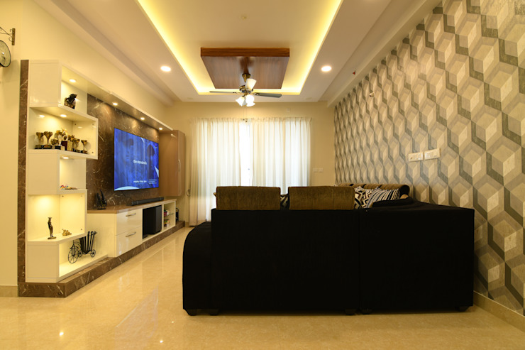 5 Modern living room by Magnon India Modern