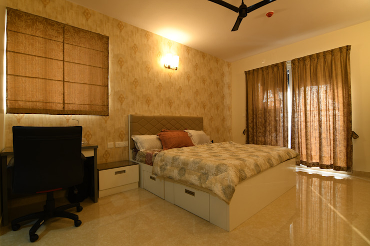 10 Modern style bedroom by Magnon India Modern