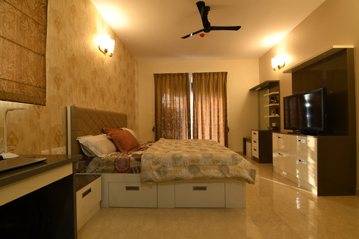 11 Modern style bedroom by Magnon India Modern