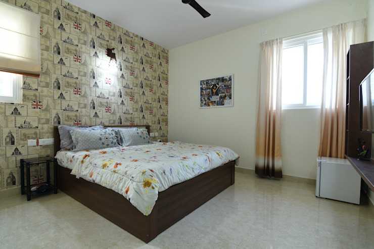 7 Modern style bedroom by Magnon India Modern