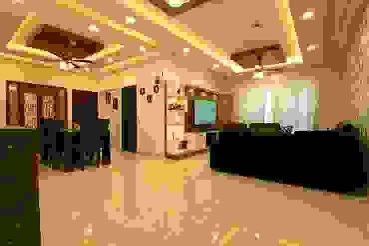 9 Modern corridor, hallway & stairs by Magnon India Modern