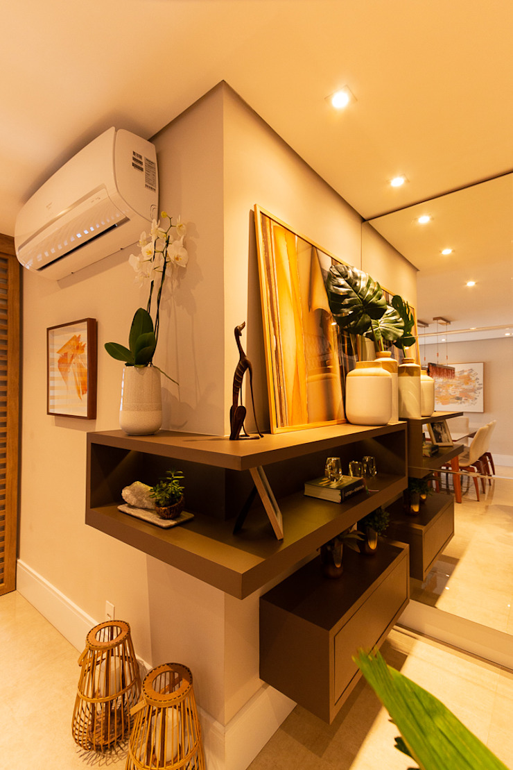Espaço AU Modern Corridor, Hallway and Staircase