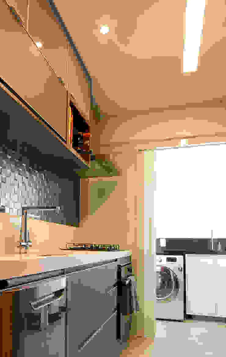 Espaço AU Modern kitchen