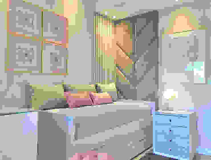 Dormitorio Nena Estudio Nicolas Pierry Dormitorios infantiles modernos: