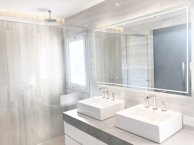 Baño Master bedroom Estudio Nicolas Pierry Baños modernos
