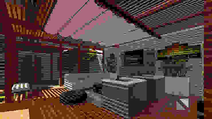 ARQUITECTOnico Garden Shed Wood Wood effect