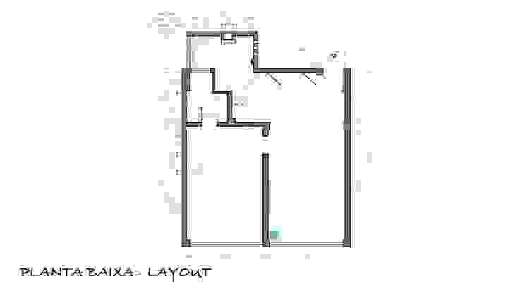 Planta de layout definitiva por Maria Claudia Faro Moderno