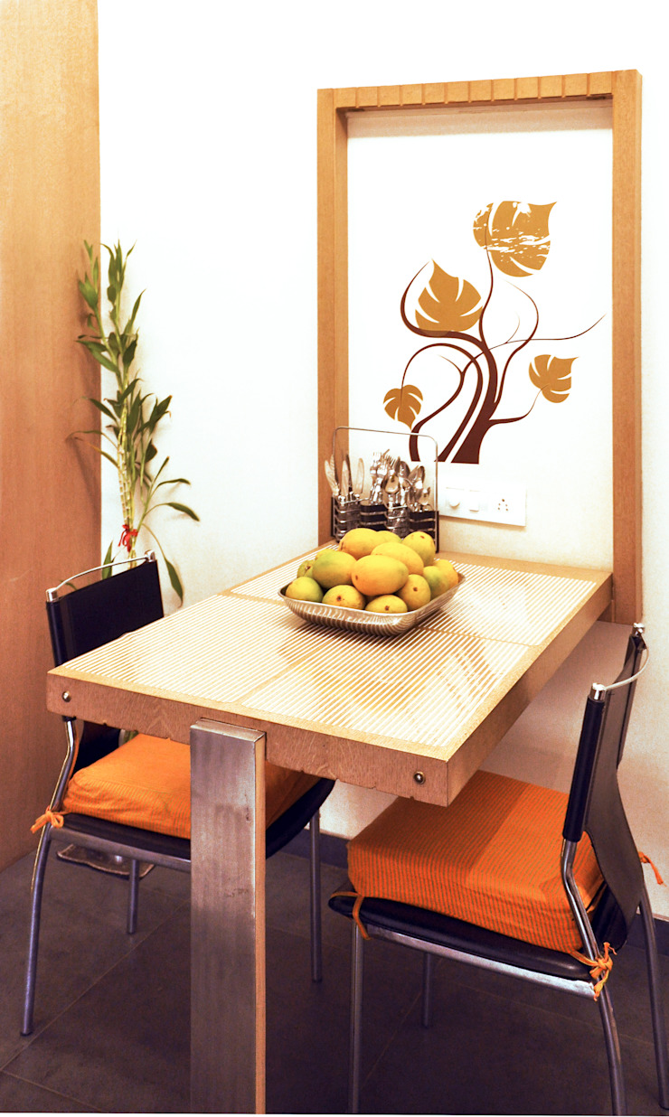 Minimalist dining room by Dhruva Samal & Associates Minimalist