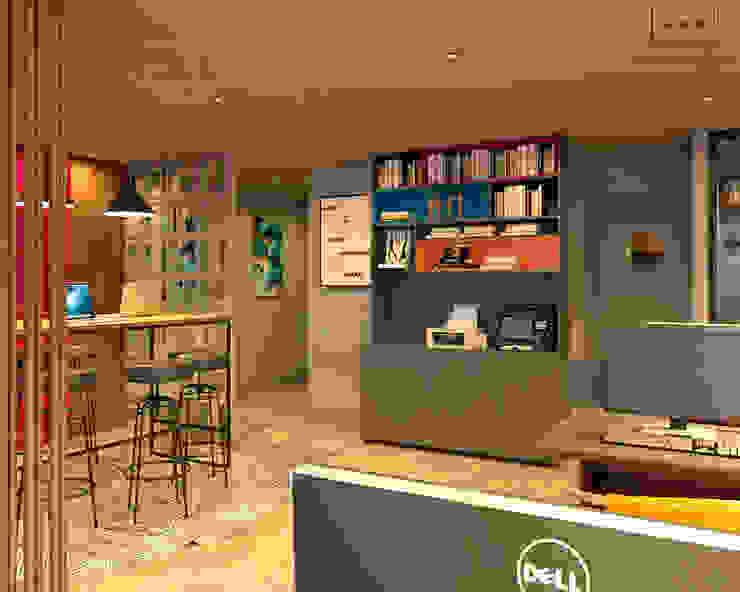 Agência Evoi de Publicidade AVR Studio Arquitetura Edifícios comerciais modernos
