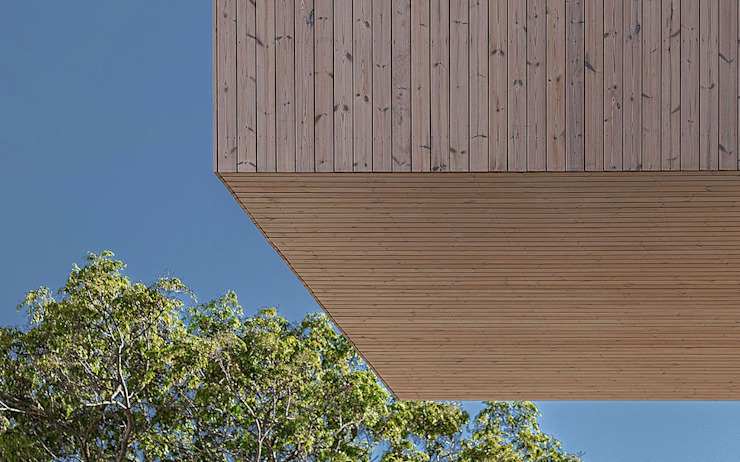 Banema S.A. Multi-Family house Engineered Wood Wood effect
