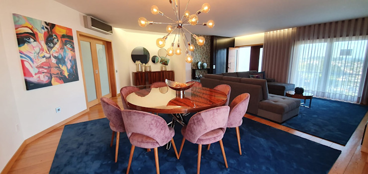 Resultado Final - Sala de Jantar por Versatilis Inovação Design