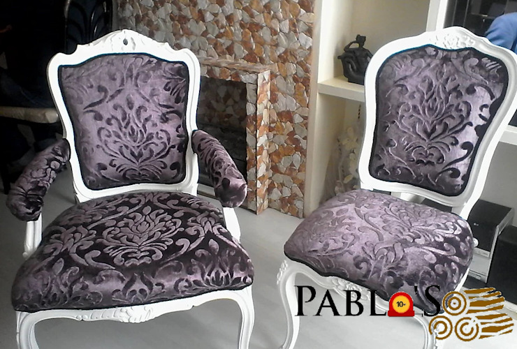 Pablo´S Dining roomChairs & benches Wood White