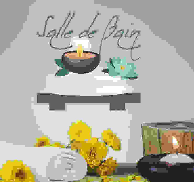 Stickers, Papiers Peints, Murales Salle de bain moderne par homify Guestpost-Partners Moderne