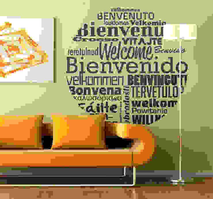 Stickers, Papiers Peints, Murales Salon moderne par homify Guestpost-Partners Moderne