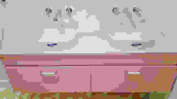 Mueble de baño Ana Cabo BañosLavabos Madera Rosa