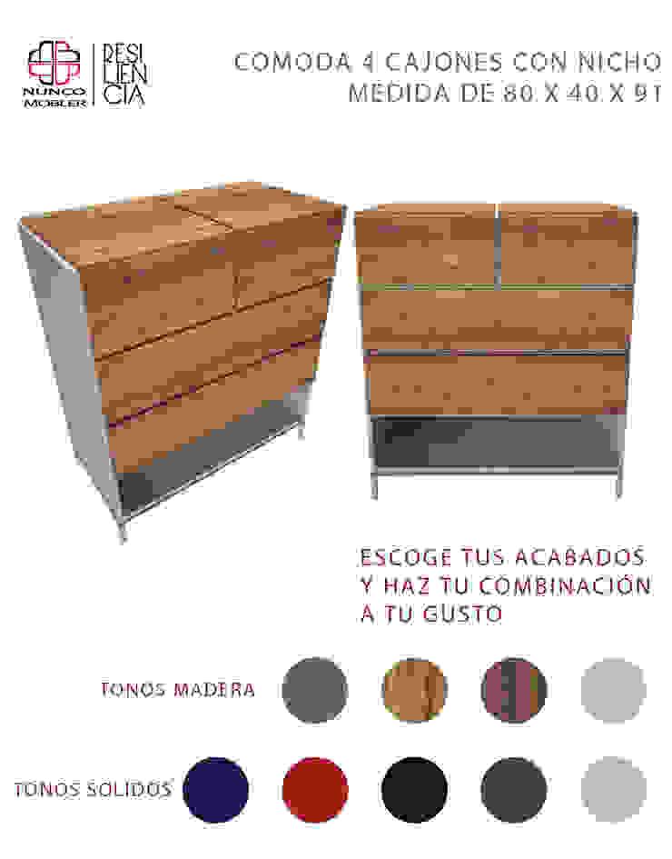 Nunco Mobler BedroomWardrobes & closets Chipboard Wood effect