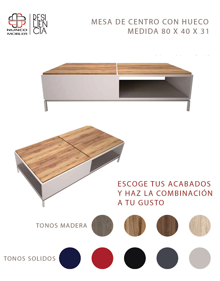 Nunco Mobler Living roomSide tables & trays Chipboard Wood effect