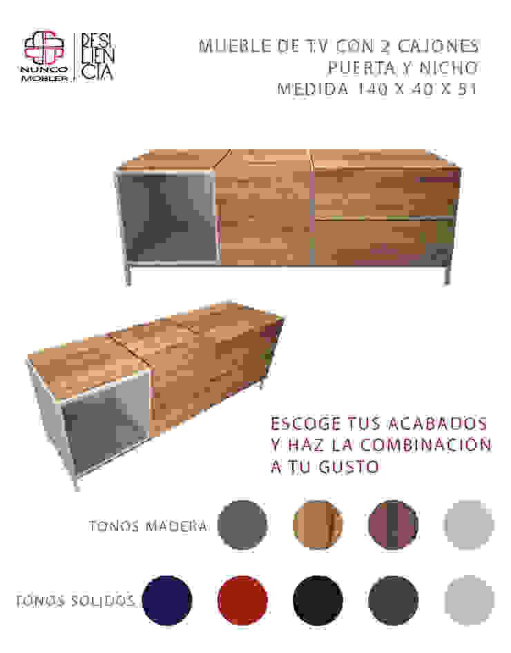 Nunco Mobler Multimedia roomStorage Chipboard Wood effect