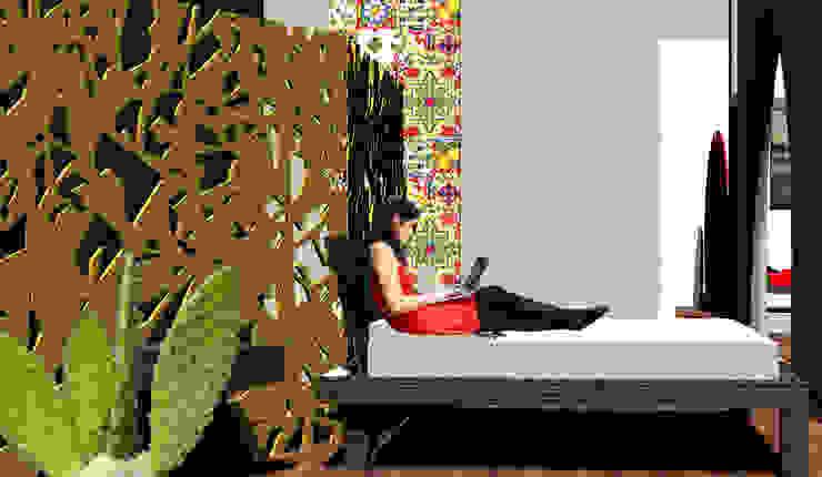 Casa Ideale Aetneas Design Camera da letto in stile mediterraneo