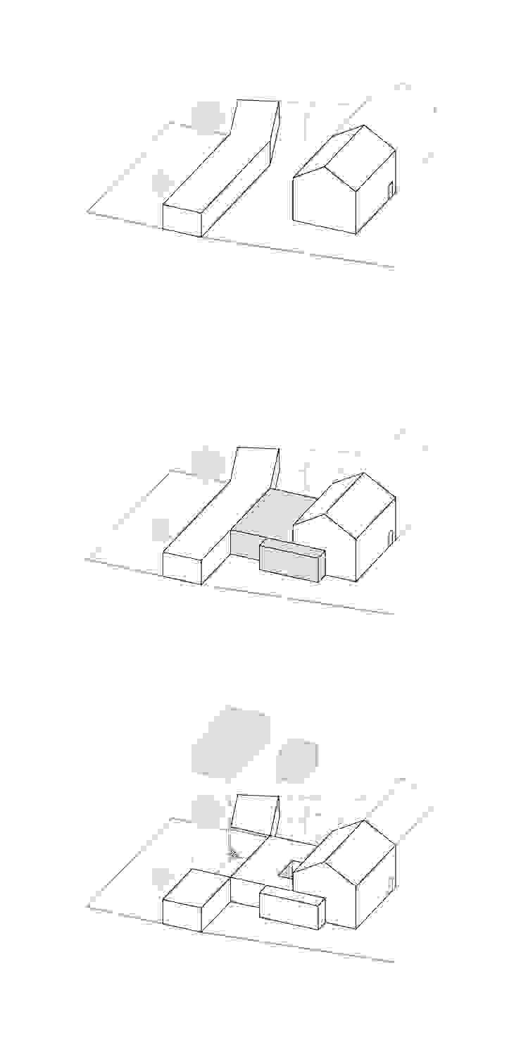 Entwurfskonzept: modern  von ZHAC / Zweering Helmus Architektur+Consulting,Modern