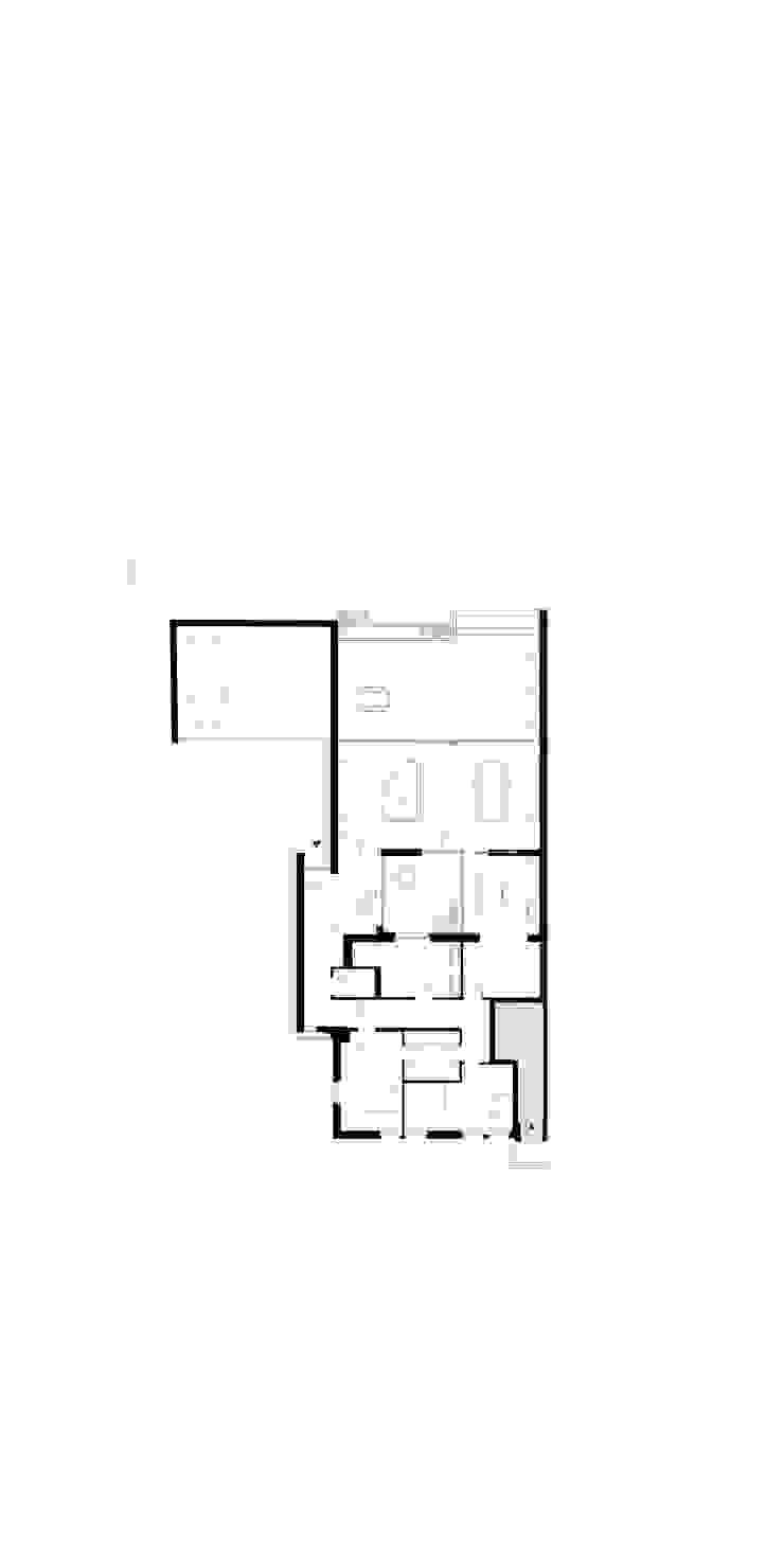 Grundriss: modern  von ZHAC / Zweering Helmus Architektur+Consulting,Modern