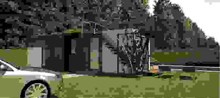 Casa de Campo Modular, km18 La Elvira de DeCasas.co Moderno