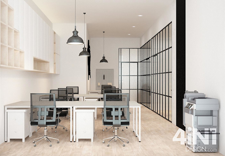 Impian Emas Office four in one design sdn bhd Modern study/office